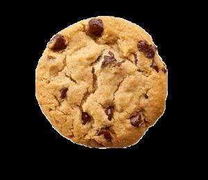 Plaatje van een chocolate koekje (cookies)